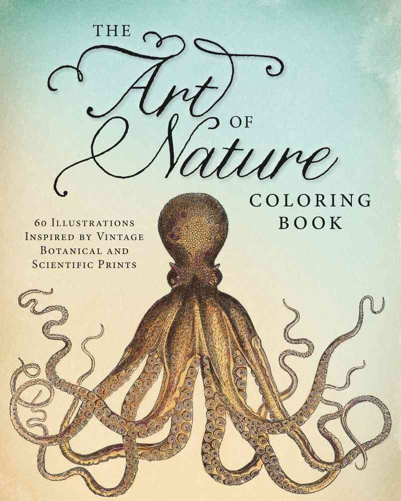 The Art of Nature Coloring Book By Adams Media (COR)